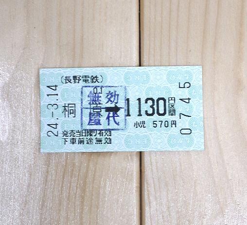 長野電鉄屋代線最後の乗車 (2)