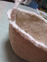 手編みかご2