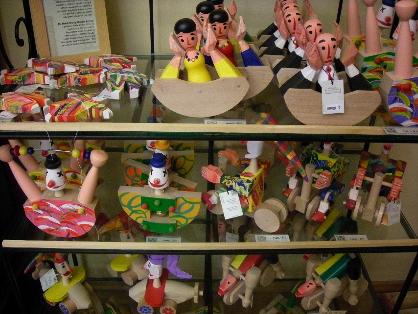 チェコの作家、Miroslav Trejtnar (ミロスラフ・トレイトナル)のユーモアあふれるおもちゃ