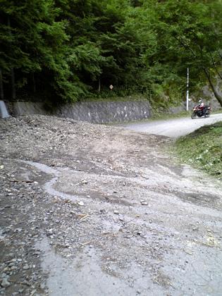 金山志賀坂林道-1