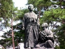 吉田松陰銅像24.3.25