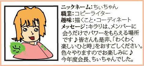 プロフィール・ちぃちゃん