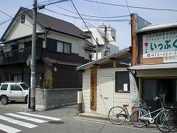 01.紀和劇場への路地入口