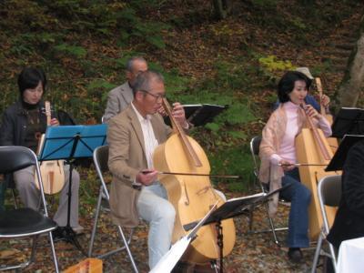 森の中の演奏