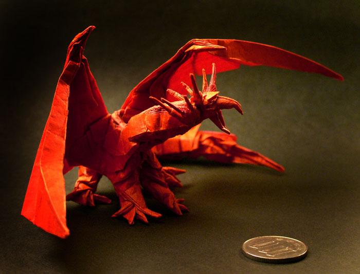 すべての折り紙 折り紙 エンシェントドラゴン : KM 折り紙(昆虫折り紙を中心と ...