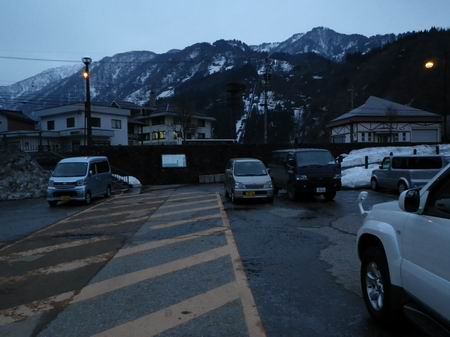 立山駅降りてきました。現実が・・・