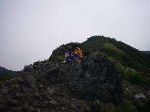 角田山登山
