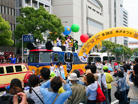 神戸まつり・ディズニーパレード