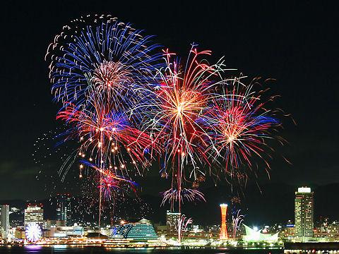 神戸みなとまつり・みなとこうべ海上花火大会