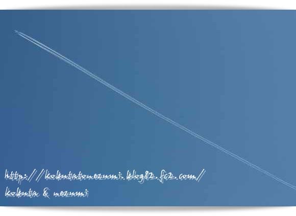 フォト飛行機雲