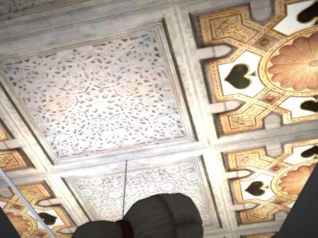 団長部屋の天井