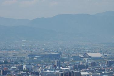 松山城からの眺め7