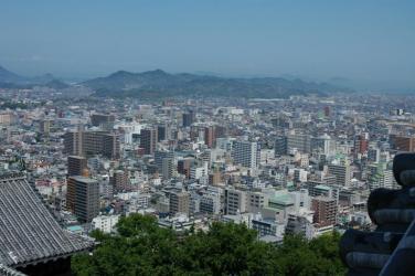 松山城からの眺め5
