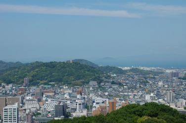 松山城からの眺め4