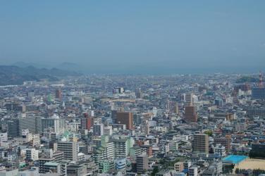 松山城からの眺め2