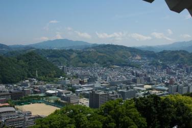 松山城からの眺め9