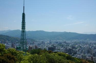松山城からの眺め8