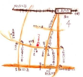 つるまめ地図