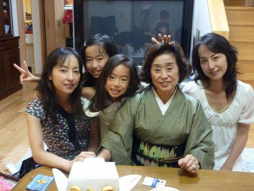 私たちと母