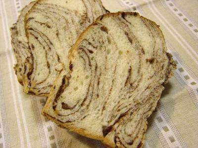 20080128チョコ折込パン