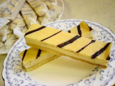20080208スティックチーズケーキ2本