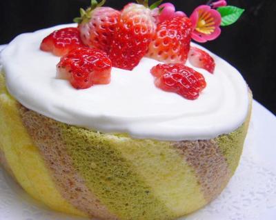 20080303お雛様ケーキ1