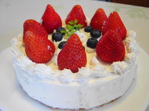 20080414ほのかが作ったデコケーキ