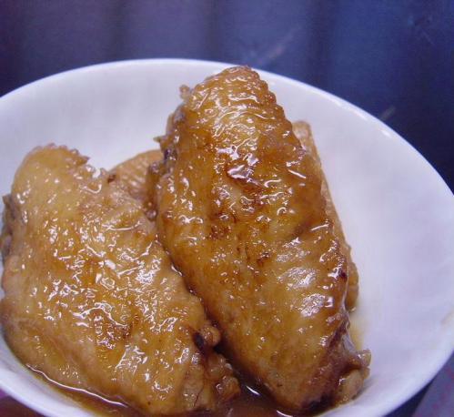 20080417鶏手羽と大根の甘辛煮