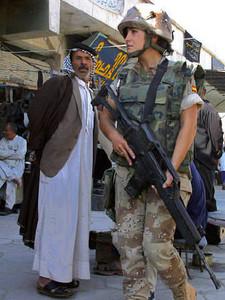 スペイン軍 イラク