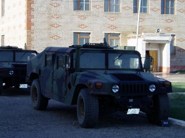 モンゴルで訓練する米海兵隊