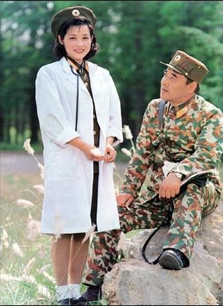 朝鮮人民軍女性兵士