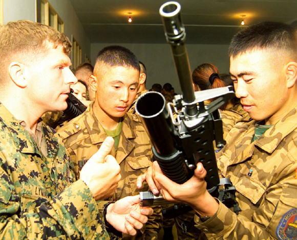 モンゴル 海兵隊