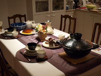 11月のテーブルコーディネート