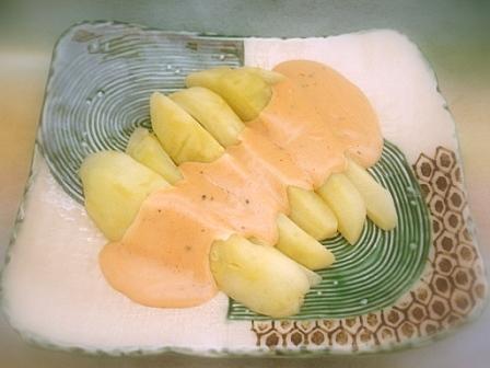 ハヤトウリピーナツソース