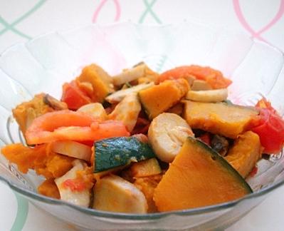 カボチャトマト2