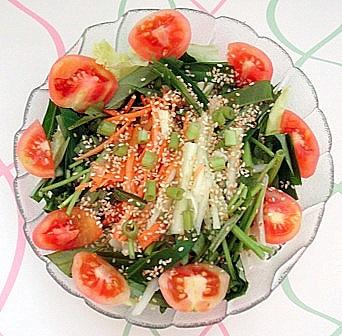 空芯菜サラダ