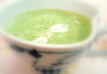 空芯菜スープ