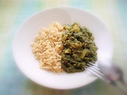 空芯菜カレー1