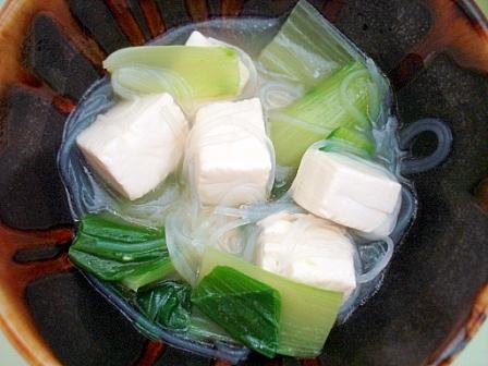 青梗菜スープ2