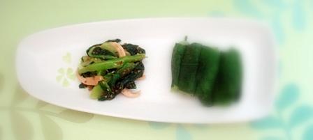 青梗菜ナムル4