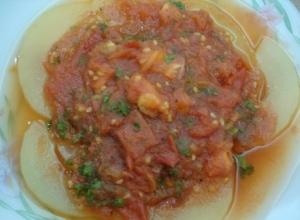 トウガントマト煮