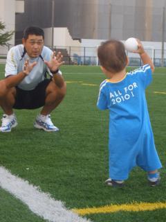 キャッチボール 愛知学院