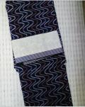 絞り浴衣&半幅帯