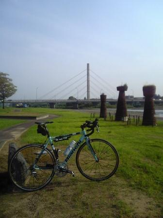 日野川堤防