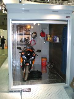イナバ物置 バイク保管庫
