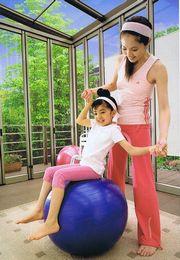ジーマで親子体操