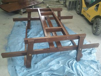 ガーデンテーブル骨組み