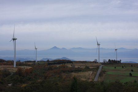 郡山 布引高原 風力発電