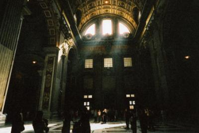 サンピエトロ寺院内部11