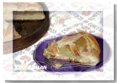 アップルパイ風パン2